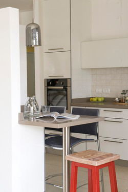 מטבח לבן מודרני