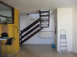 לפני השיפוץ-מצב המדרגות