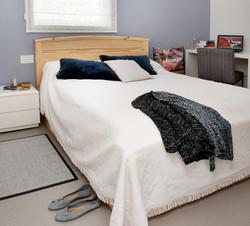חדר שינה נערה מתבגרת מיטה וחצי
