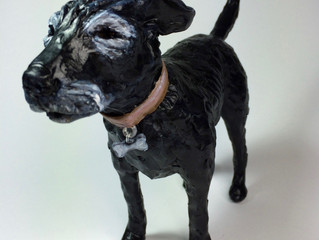 New! Dogs in Resin-like finish!