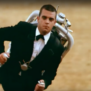"Robbie Williams, ""Millenium"", 1998"