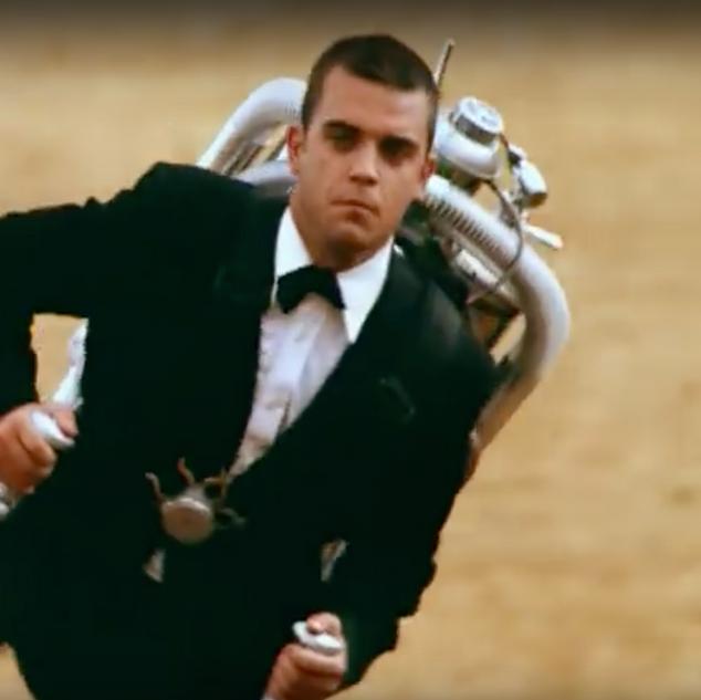 """Robbie Williams, """"Millenium"""", 1998"""