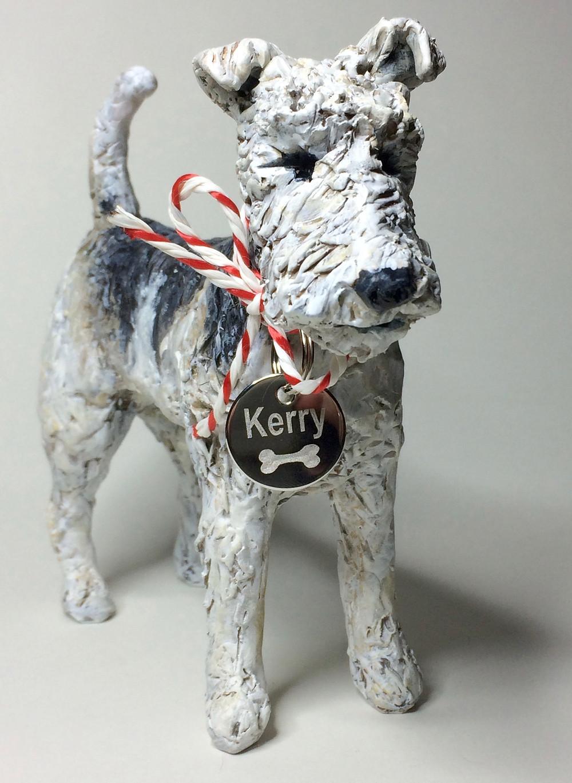 Kerry the Fox Terrier Sculpture