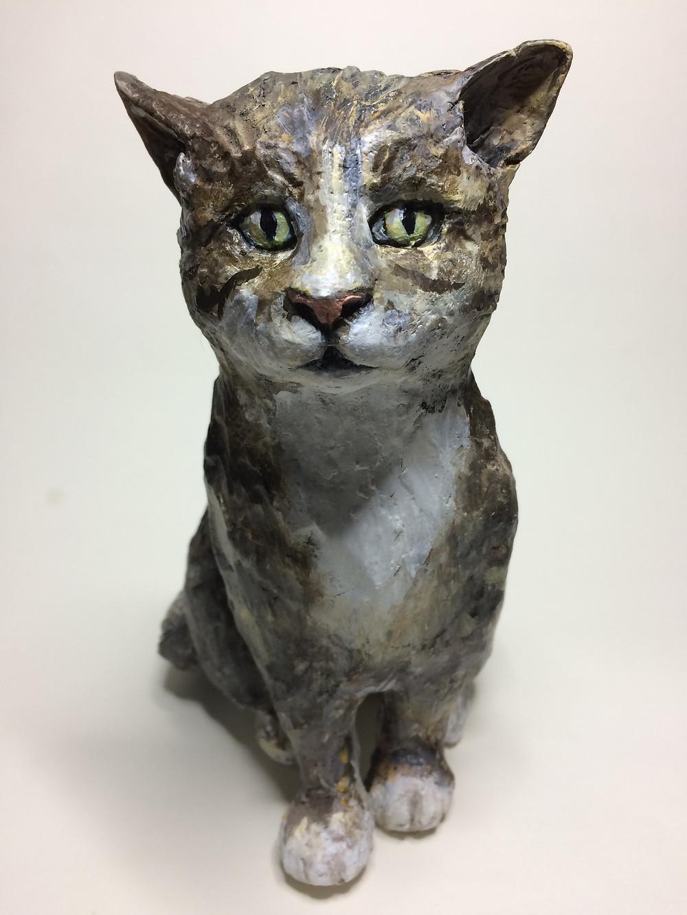 Cat Sculpture Portraits