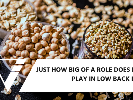 Just How Big Of A Role Does Food Play In Low Back Pain?