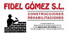 Fidel Gomez S.L. Construcciones y rehabilitaciones