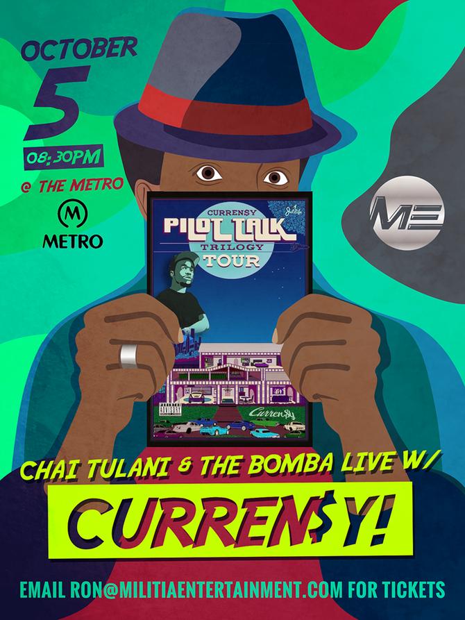 Chai Tulani Live w/ CURREN$Y