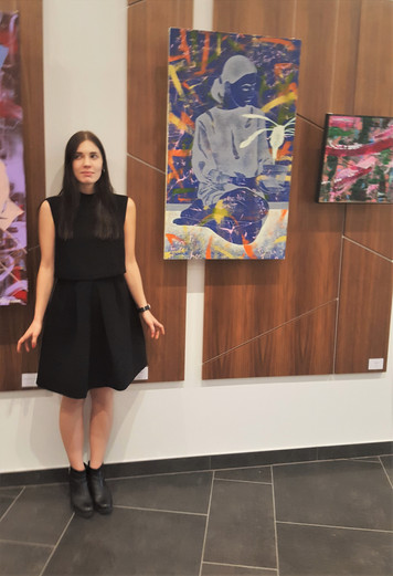 "Anna Kõuhkna ""Thoughts""; paintings"