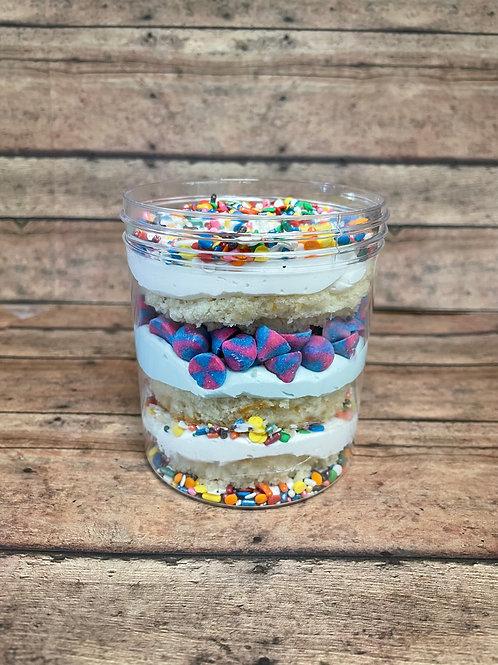Birthday Party Cake Jar