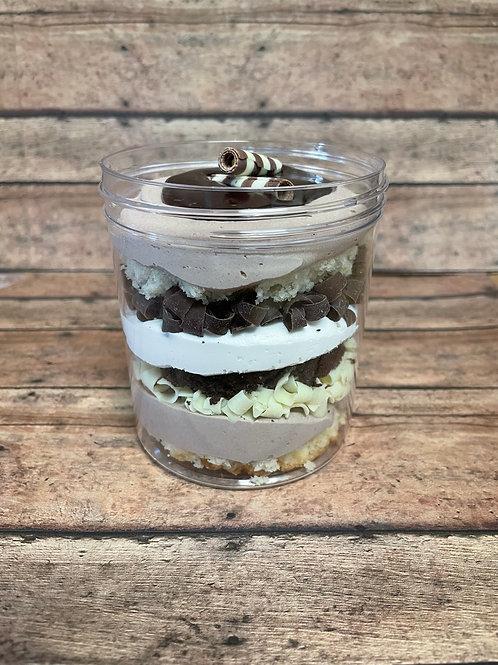 Marble Cake Jar