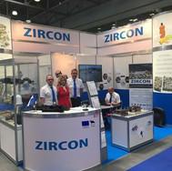 Zircon at exhibition