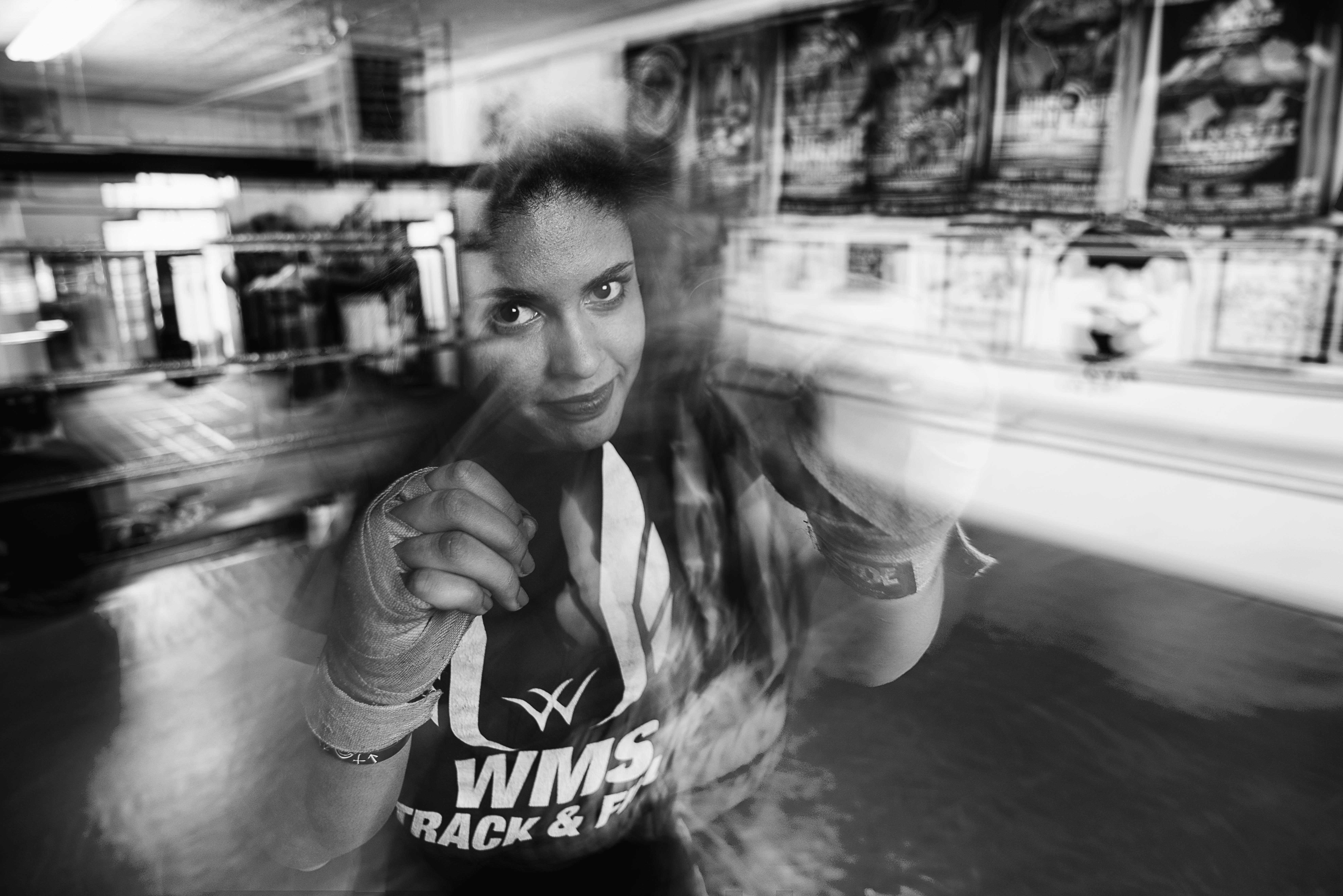 girl punch