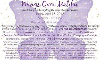 Wings Over Malibu Flyer