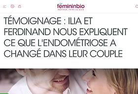 Ilia et Ferdinand nous expliquent ce que l'endométriose a changé dans leur couple