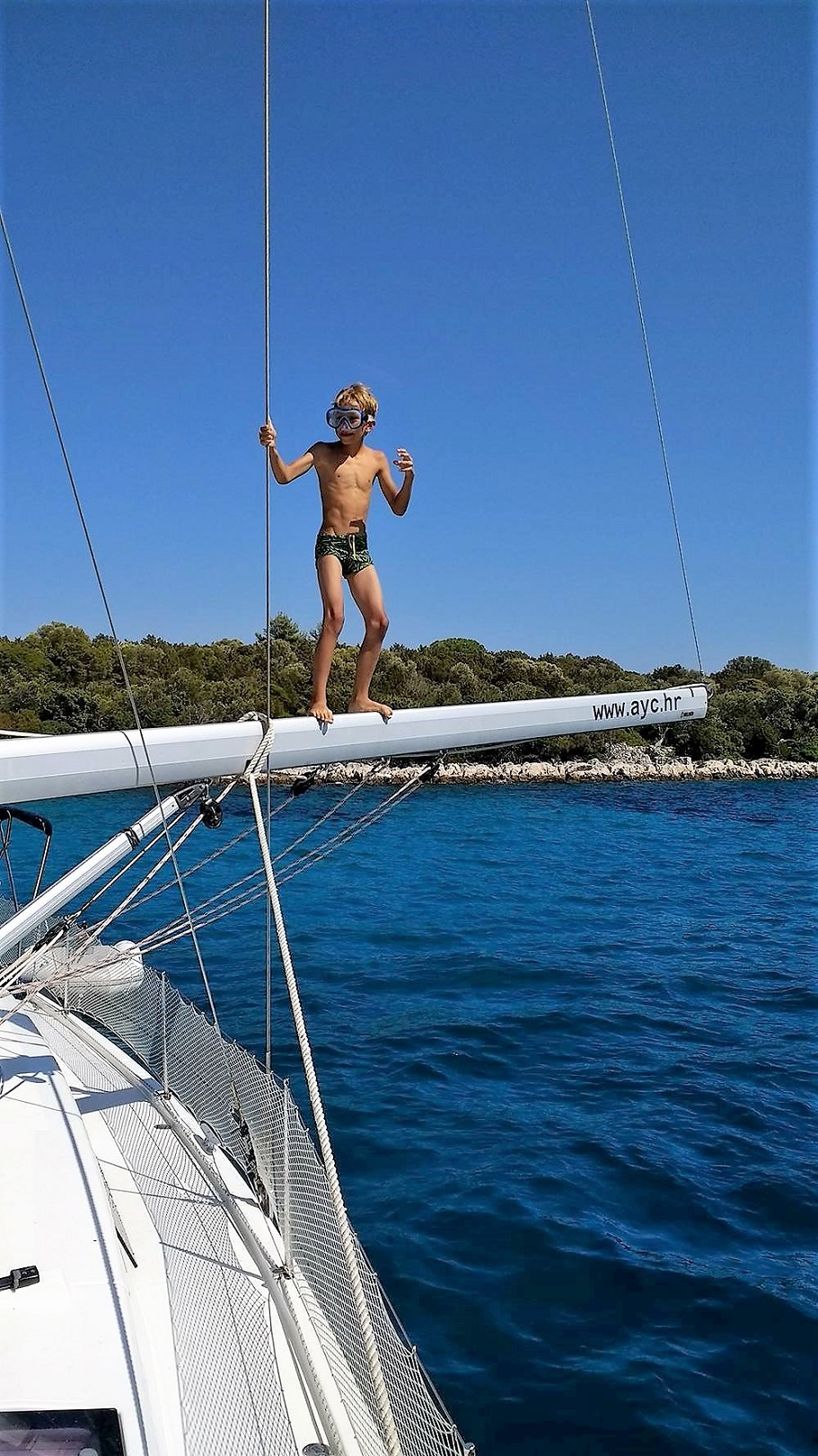 Sailfriends flottieljes zwemplezier