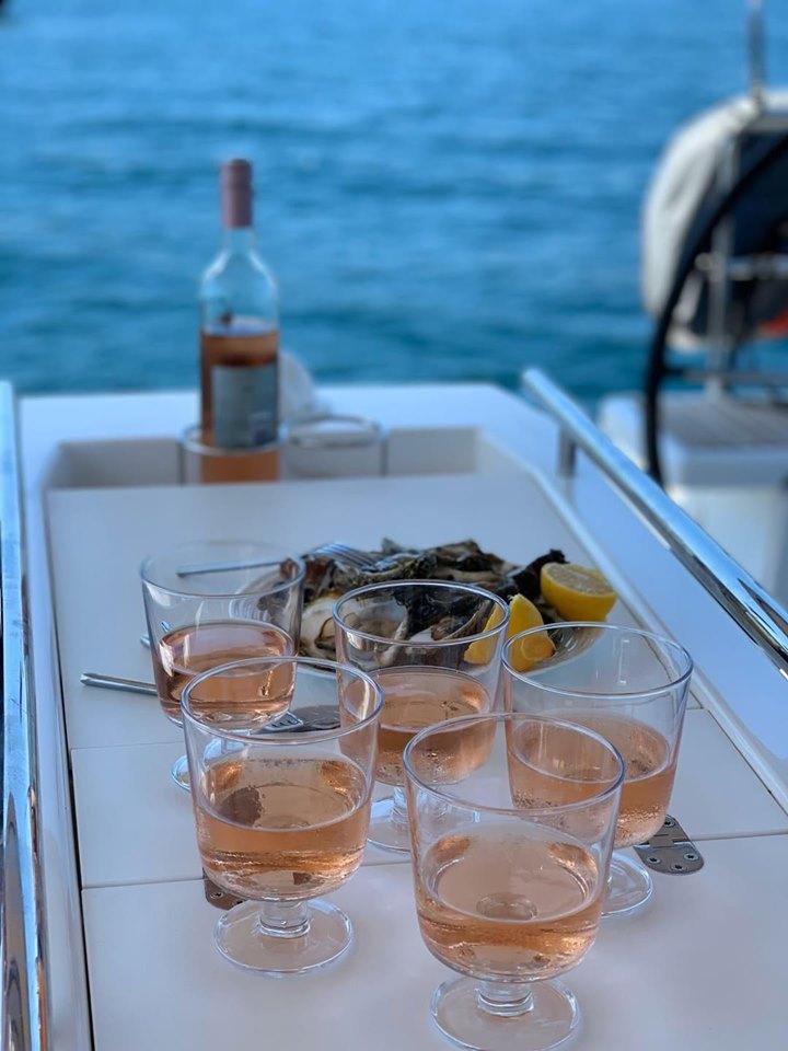 Sibenik oesters recht uit zee