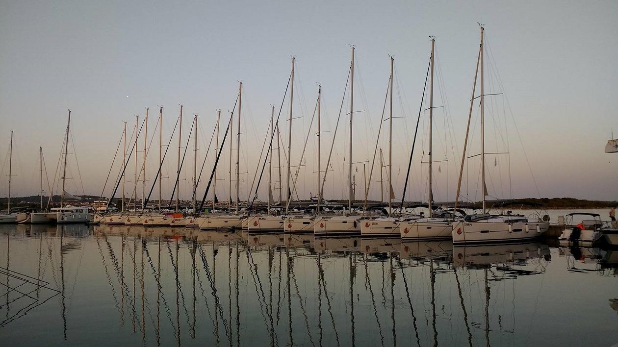 Sailfriends zeilvloot Pula