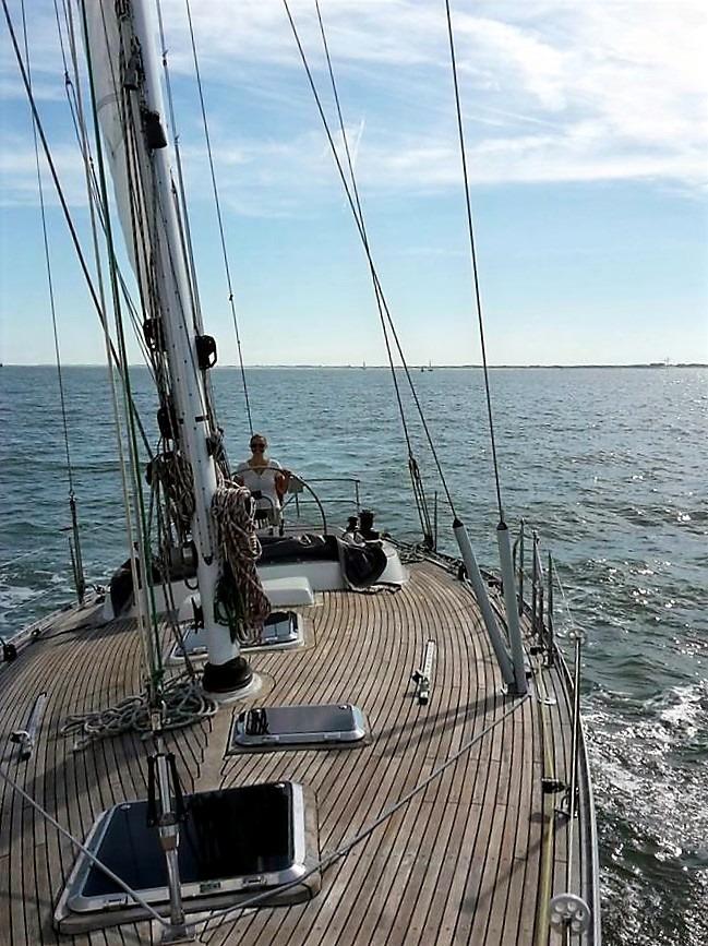 Sailfriends zeilopleiding Noordzee