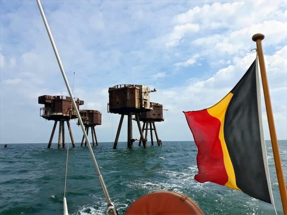 Geschiedenis op zee