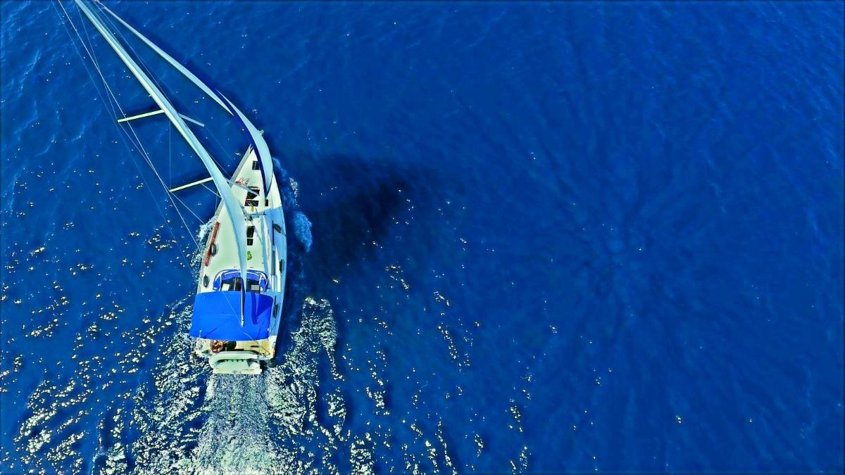 Sailfriends flottielje luchtfoto