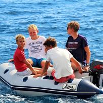 Leukste bootje voor de kinderen
