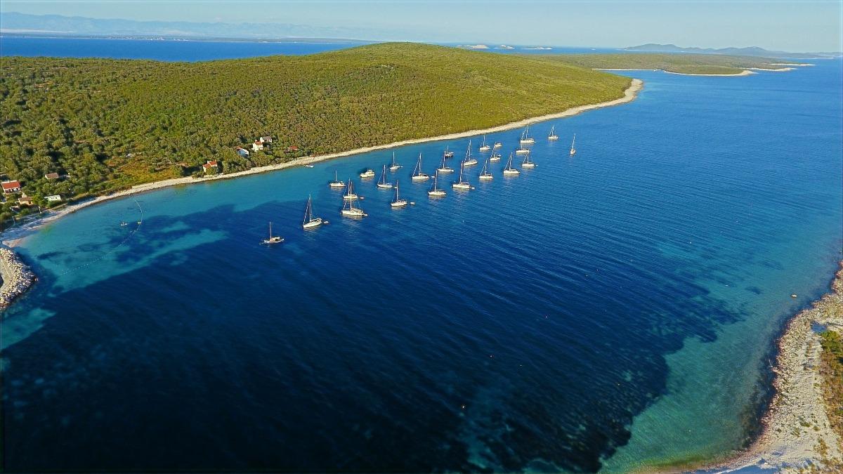 Sailfriends luchtfoto Premuda 2