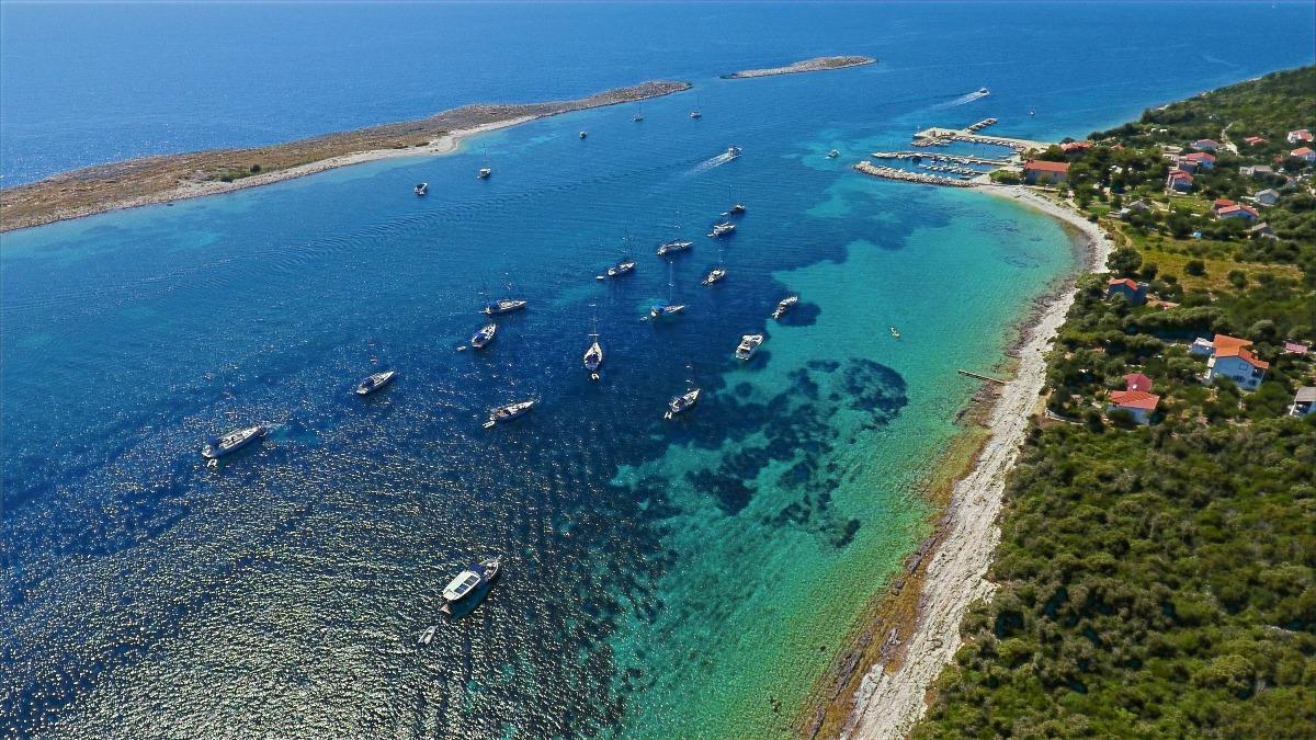 Sailfriends luchtfoto Premuda