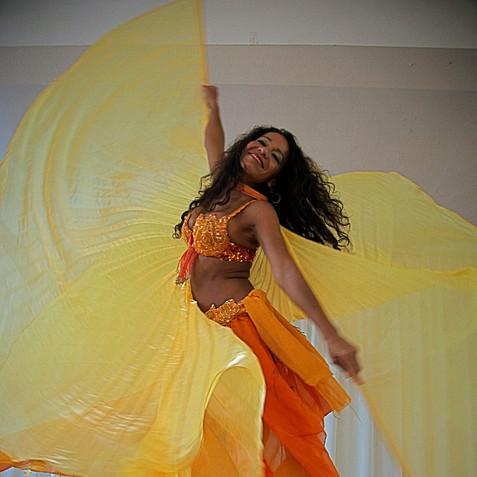 orange issis wings