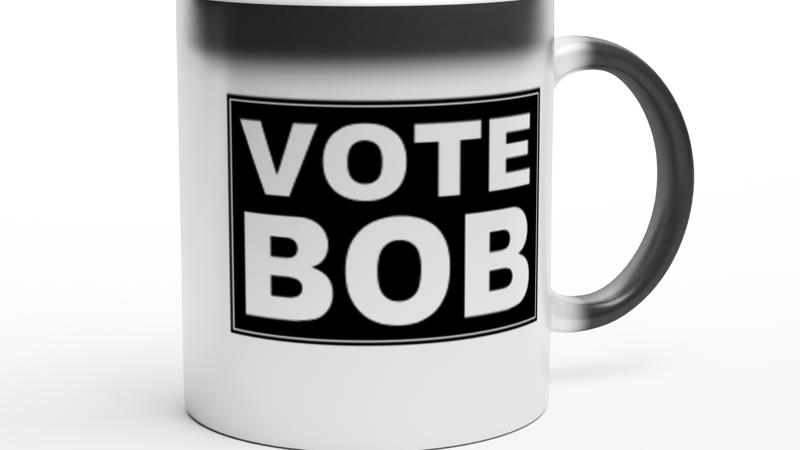 VOTE BOB Heat-Changing Mug