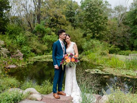 New Hope Wildflower Preserve Wedding // Carrie & Cory