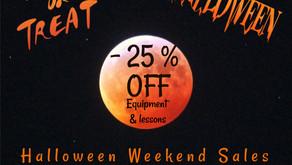 Halloween Weekend Sales
