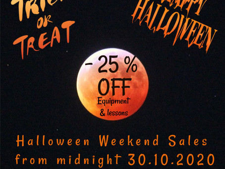Halloween Weekend Sales