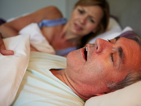 This is why you snore.