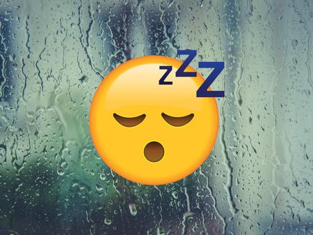 Rain will make you fall asleep quicker. Here's why.