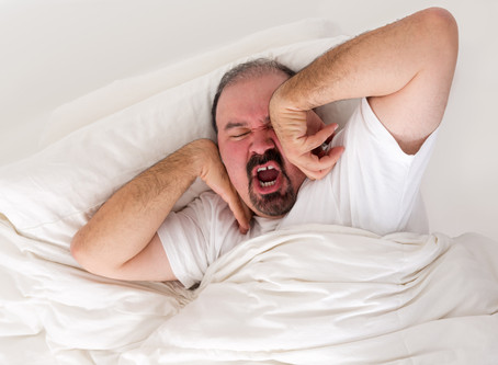 Not sleeping well? It's time to go to the doctor.