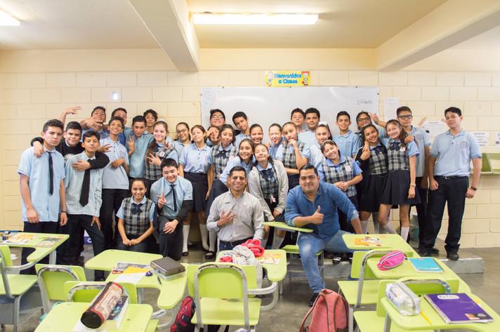 ¡Iniciamos el ciclo escolar! Cuando Seas Grande visita a la Secundaria #27 Encuentro de 2 Culturas
