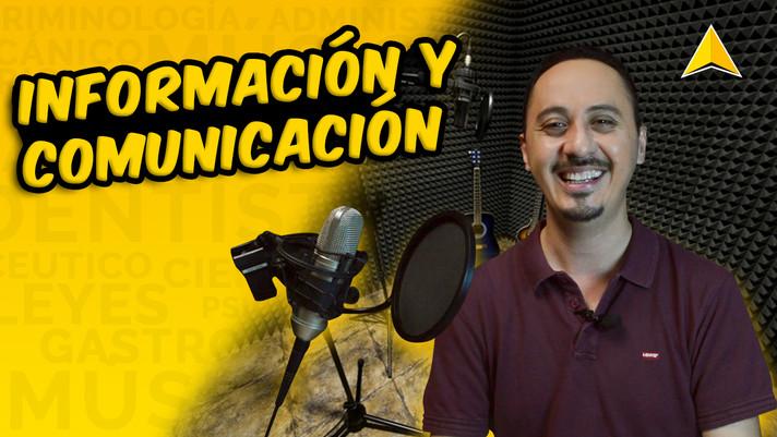 Lic. Ciencias de la Información y Comunicación - Javier Reyes