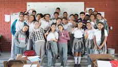 Cuando Seas Grande visita a la Secundaria Técnica #87 Mariano Arista