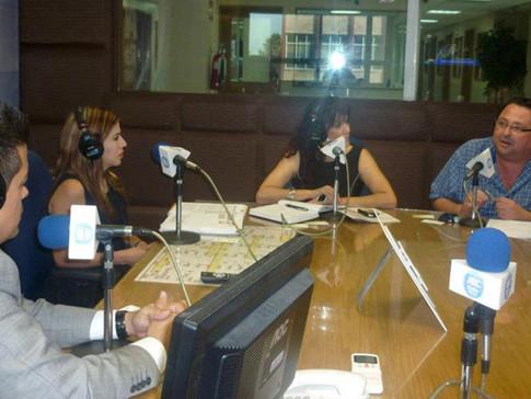Juventud Blocao en Radio Alegría