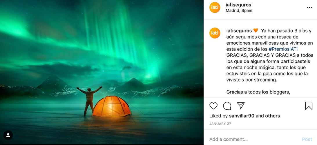 Instagram IATI