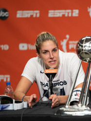 Elena Delle Donne photo taken by Robert Banez
