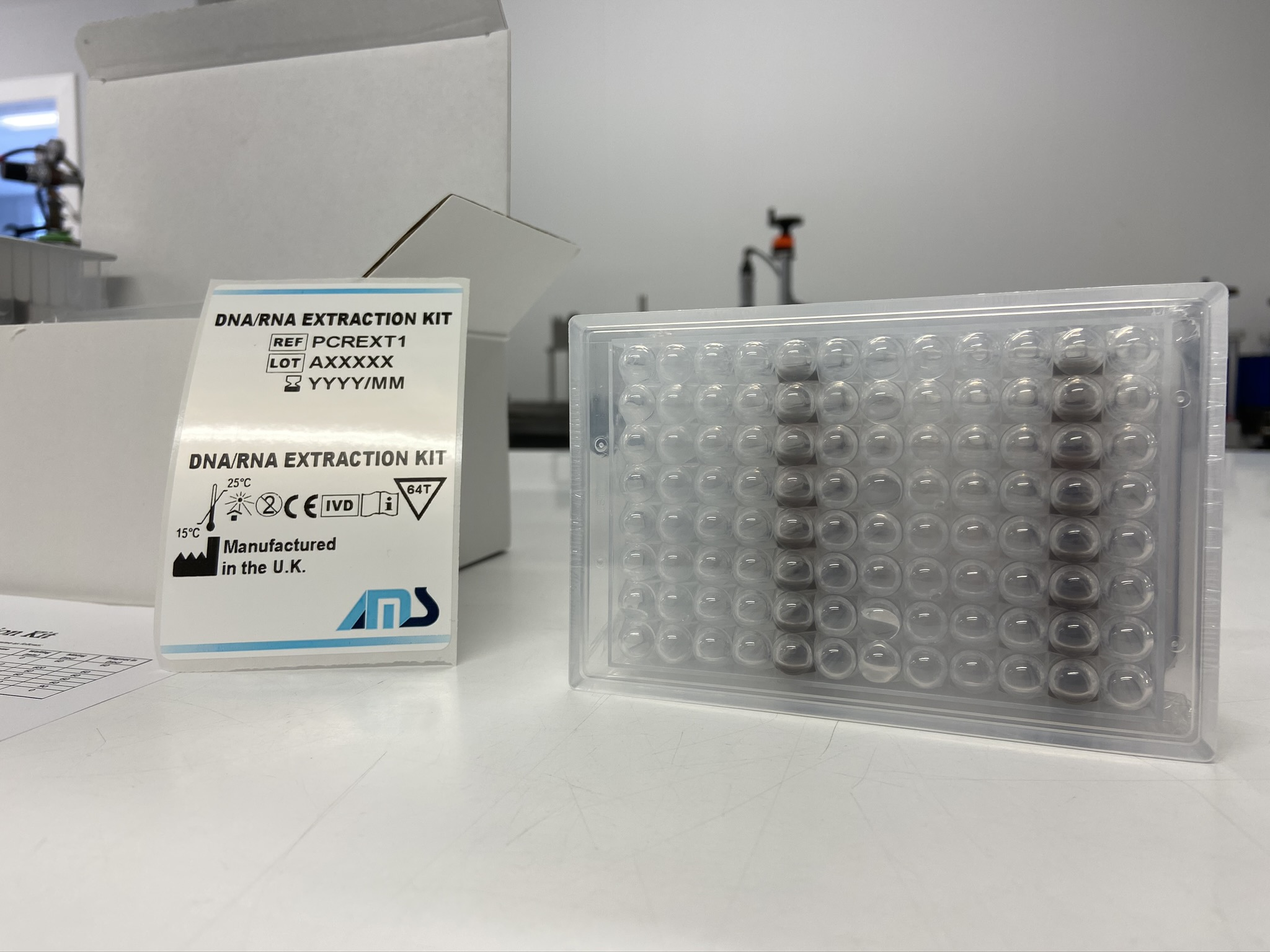 AMS DNA/RNA Magnetic Bead Extraction Kit