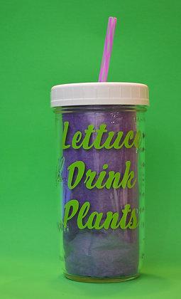 Lettuce Drink Plants Jar