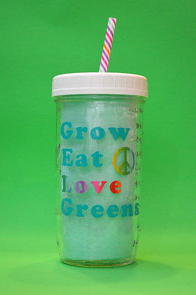 Grow Eat Love Jar