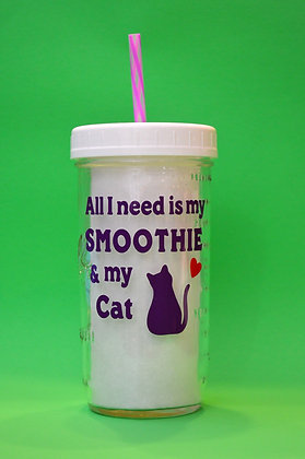 Smoothie & My Cat Jar