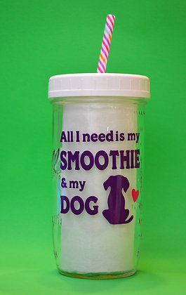 Smoothie & My Dog Jar