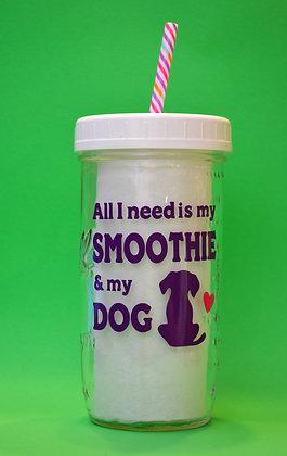 Smoothie & My Dog Jar