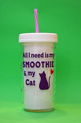 Smoothie & My Cat Jar