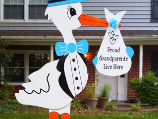 Grandparents Share in the excitement of New Grandchild!