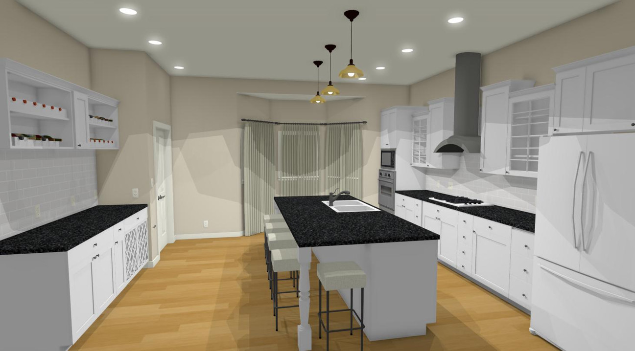 Kitchen 1 After Renovation